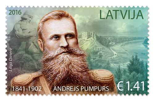 Pastmarka Andrejam Pumpuram – 175