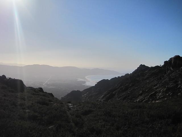 Carnota desde el monte Pindo