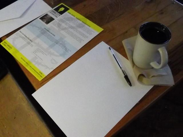Amnesty international write a thon 2012 online