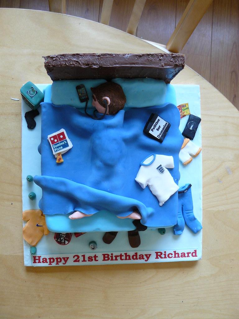 Teenage Boy Cake Kirsty Mckelvey Flickr