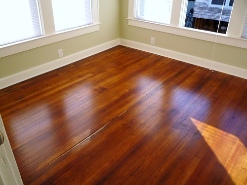 Linwood Apt 3 Bedroom Floor Original 1930s Longleaf Heart