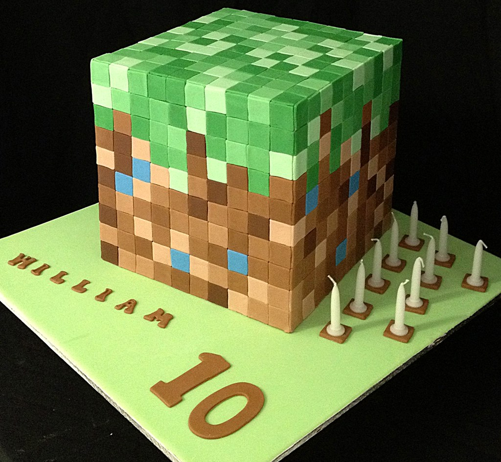 Where To Buy Minecraft Birthday Cake