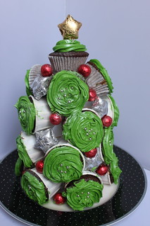 Gluten Free Cupcake Christmas tree | by thecuriousbaker