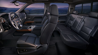 2014 GMC Sierra SLT Interior Profile from Driver's side | by Automotive Rhythms