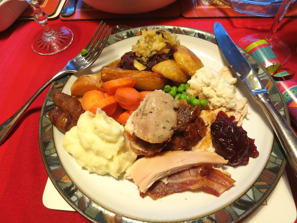 christmas dinner by ruth and dave - British Christmas Dinner