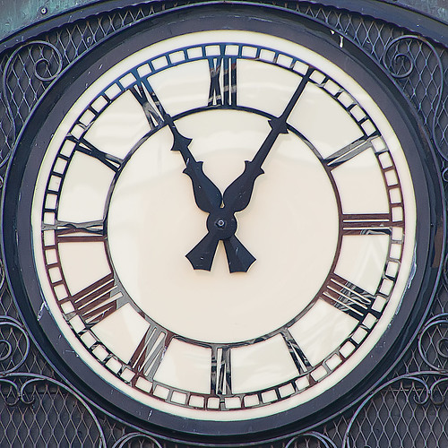 0005 Clock | by Mark Morgan Trinidad B