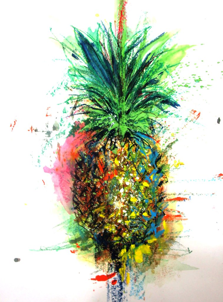 Gallery For gt Pineapple Art