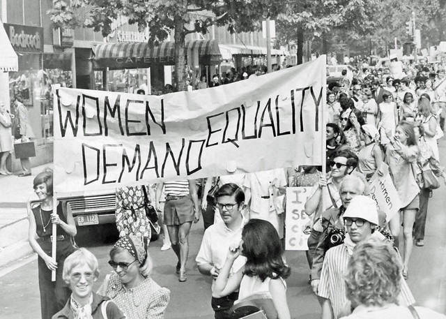 Demonstration For Women U2019s Rights  1970