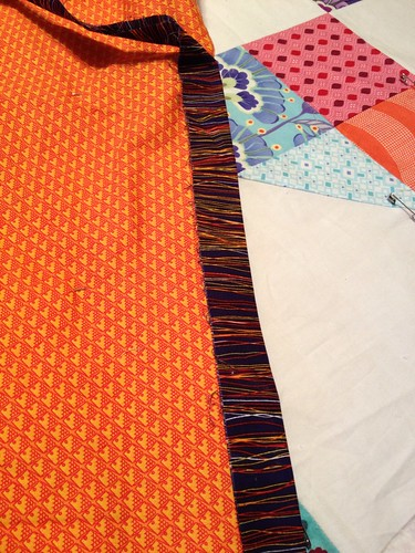Pinwheel Quilt Back, Binding | by nautistitcher