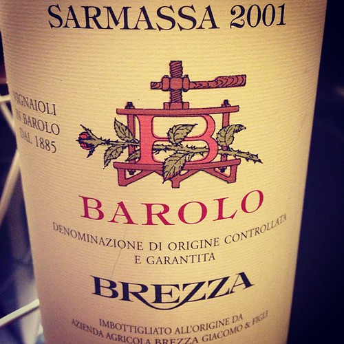 Some serious #Barolo great #wine | by craig.camp