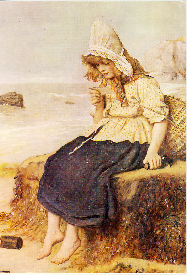 A Message From The Sea By Sir John Millais
