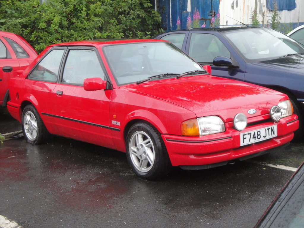 1988 ford escort xr3i currently sorn alan gold flickr. Black Bedroom Furniture Sets. Home Design Ideas