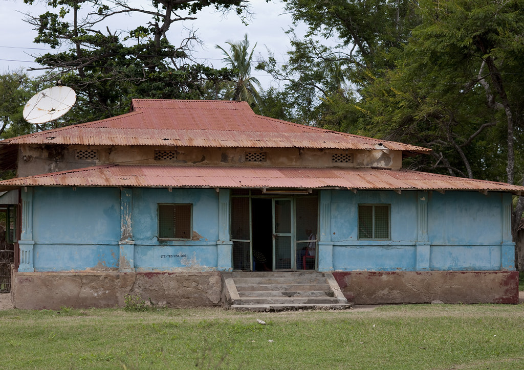 Old Colonial German House In Lindi Tanzania