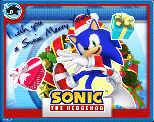 Merry Christmas From Sonic And Stampii Sega Of America