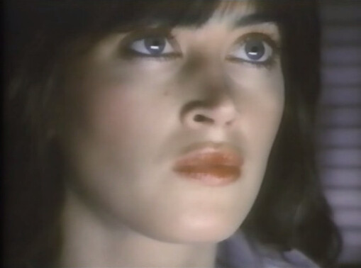 Amanda Pays as Theora Jones from Max Headroom: 20 Minutes ...