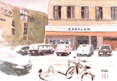 Babylon Kino, Dresdener Strasse - Berlin   View from the ...  Babylon Kino, D...
