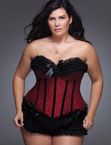 Plus Size Corset Models for Fatties