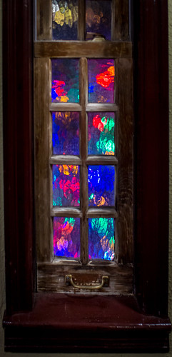 Christmas lights outside (1 of 1) | by Jim Allen