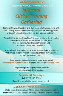 Clicker gathering 30 Dec 12 | Amanda Martin | Flickr