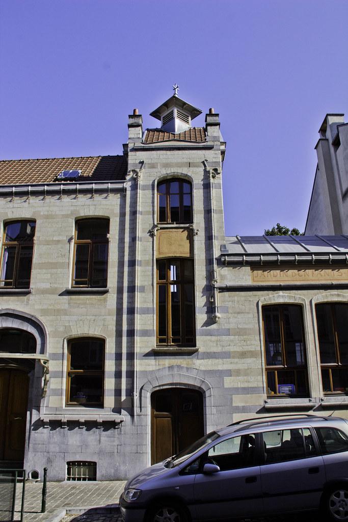 Belgique bruxelles art nouveau horta rue saint ghi for Architecte 3d wikipedia