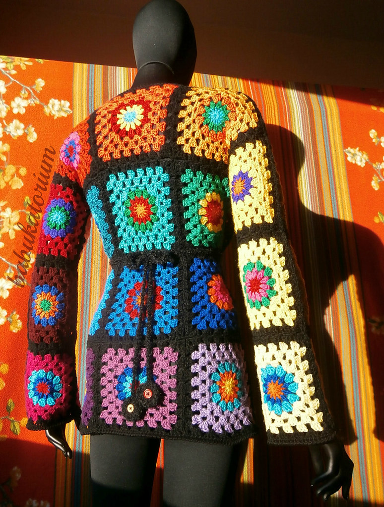 Crochet Granny Square Sweater Pattern : Granny Square Sweater - The Ultimate Circles To Squares De ...
