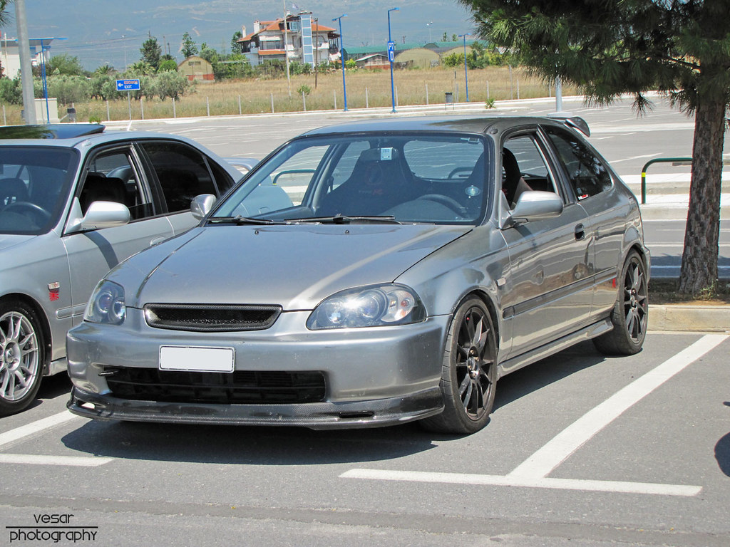 honda civic ej9 pre facelift thunder grey vesar flickr. Black Bedroom Furniture Sets. Home Design Ideas