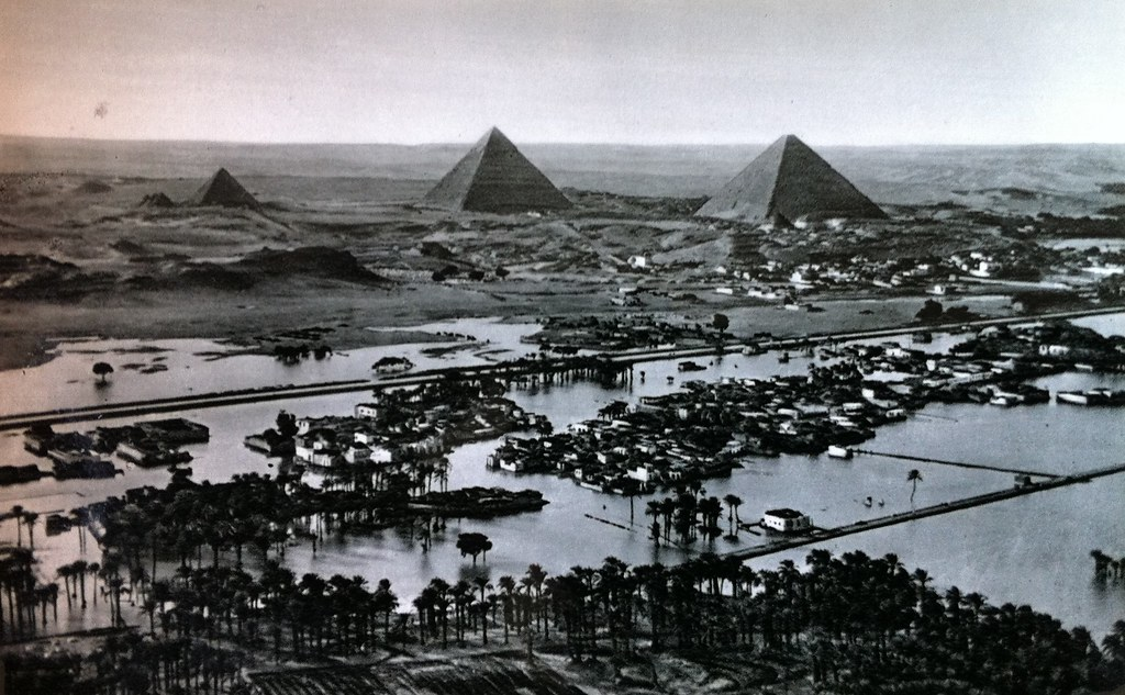 Nile floods