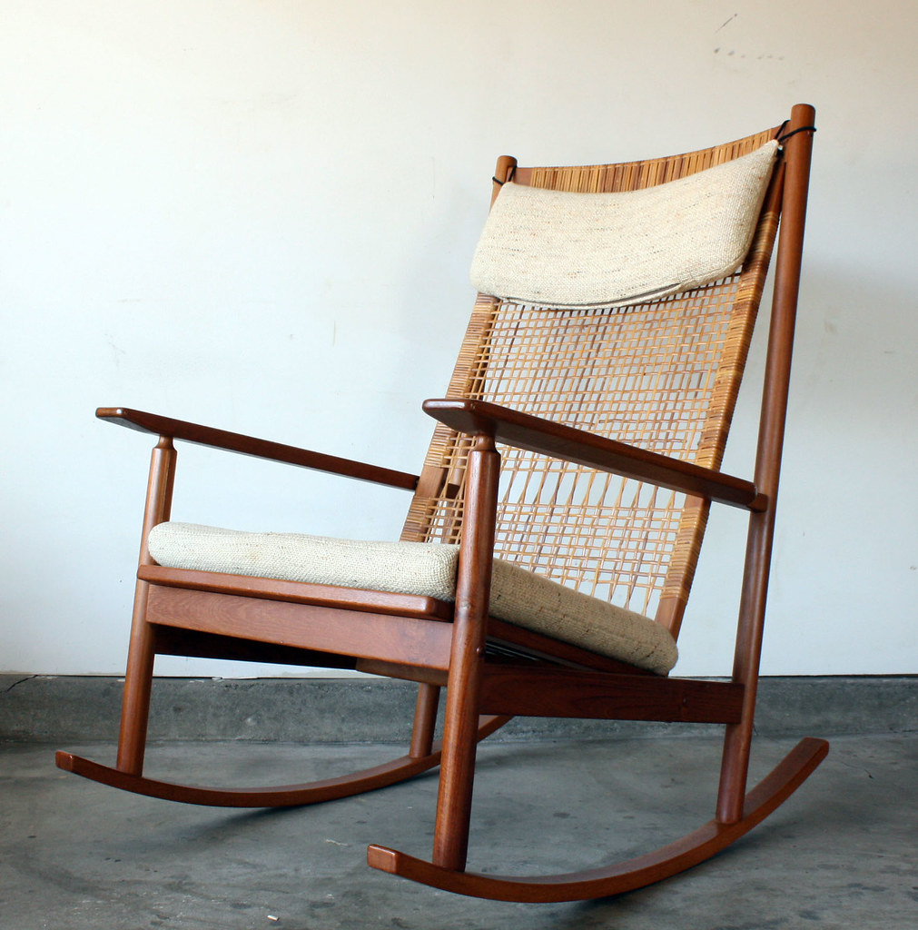 ... Hans Olsen Danish Modern Teak Rocking Chair | By Manlyvintage