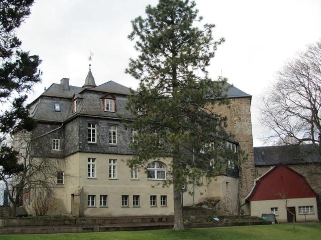 Siegen Germany  City pictures : Germany Siegen Rear of Upper Castle   December 2012 Ja ...