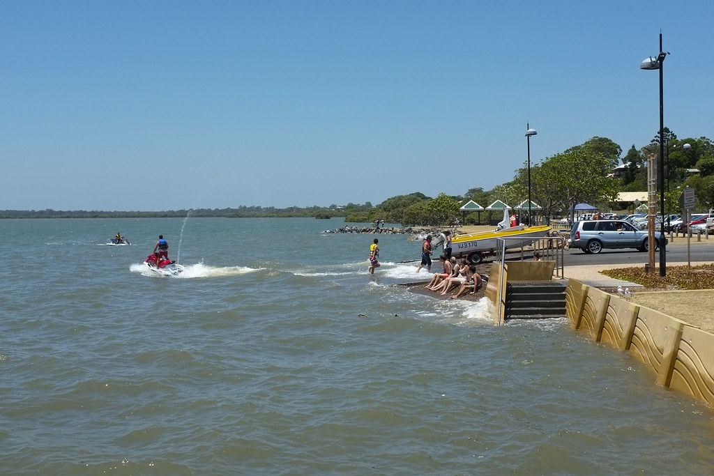 Wellington Point boat ...