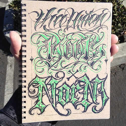 The Union Mini Lettering Book By Norm And Boog Will Be A Flickr