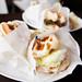 Turkey Club Waffle Sandwich