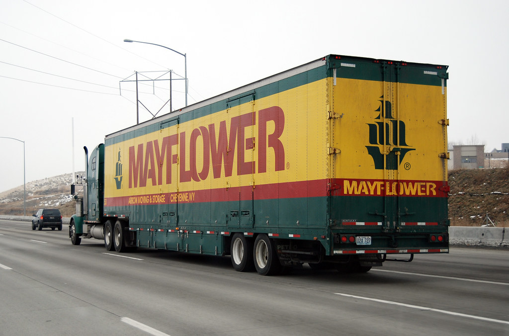 Mayflower Moving Truck Nampa Idaho Roadsidepictures Flickr