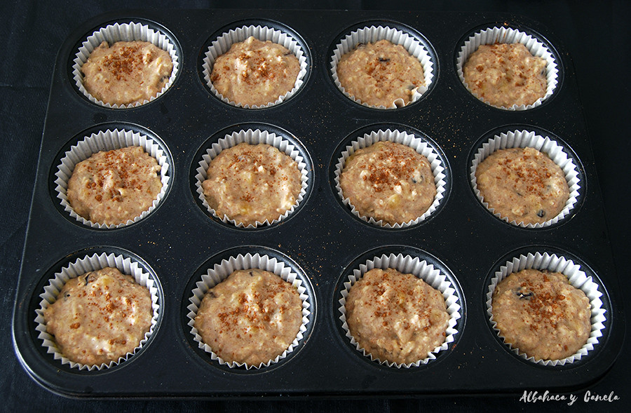 Lowsugar Banana muffins