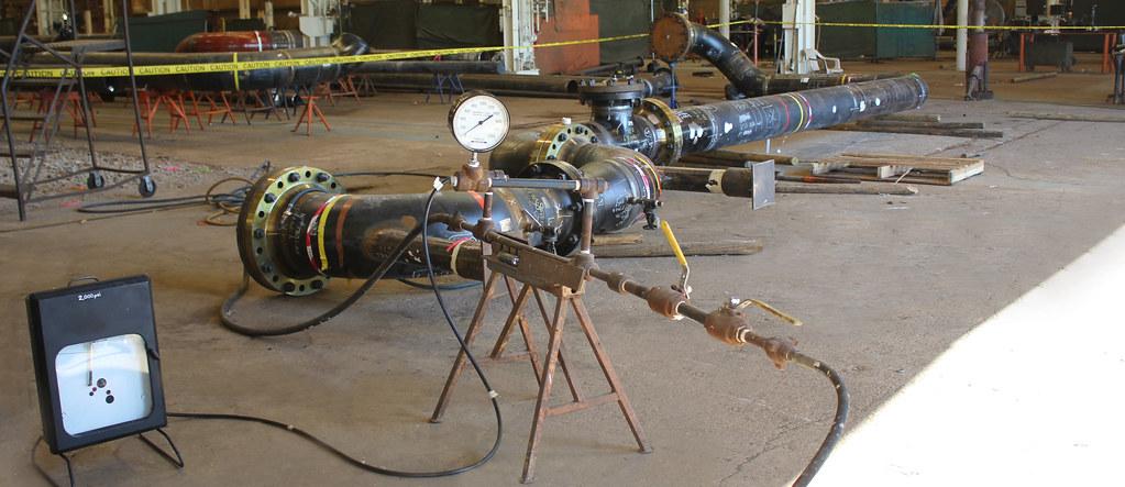 Hydro Test Safety Pneumatic Test safety