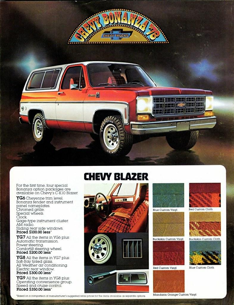 1978 Chevrolet Blazer Bonanza Packages Alden Jewell Flickr
