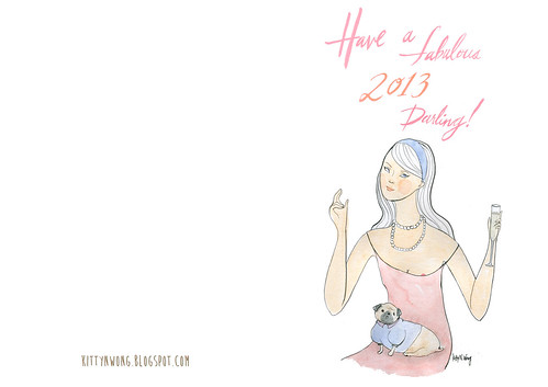 2013 New Years Card! | by Nothing Wong