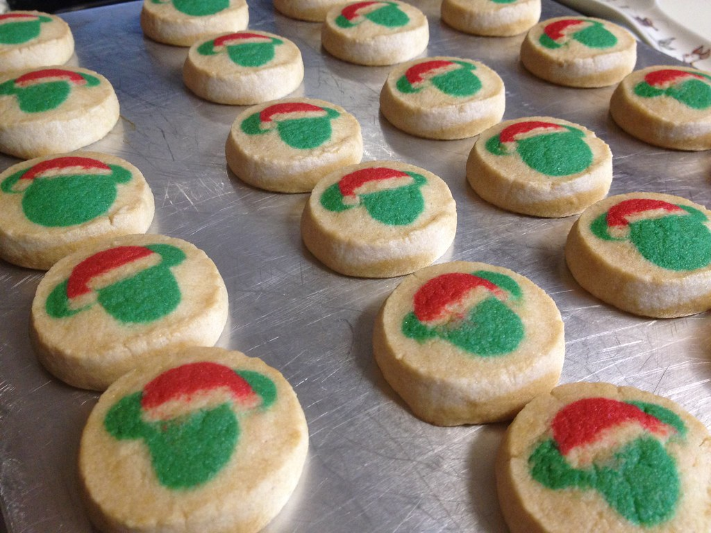 mickey mouse christmas cookies by steve and his photos - Mickey Mouse Christmas Cookies
