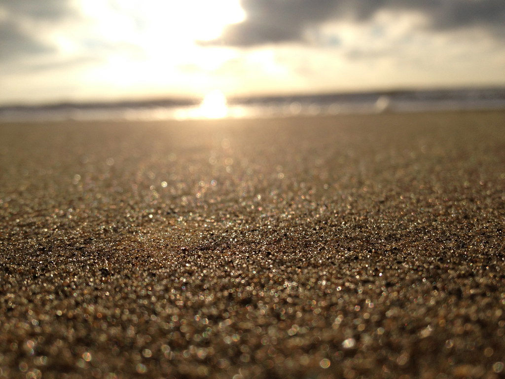Sand close up on the beach | Izabela Russell | Flickr