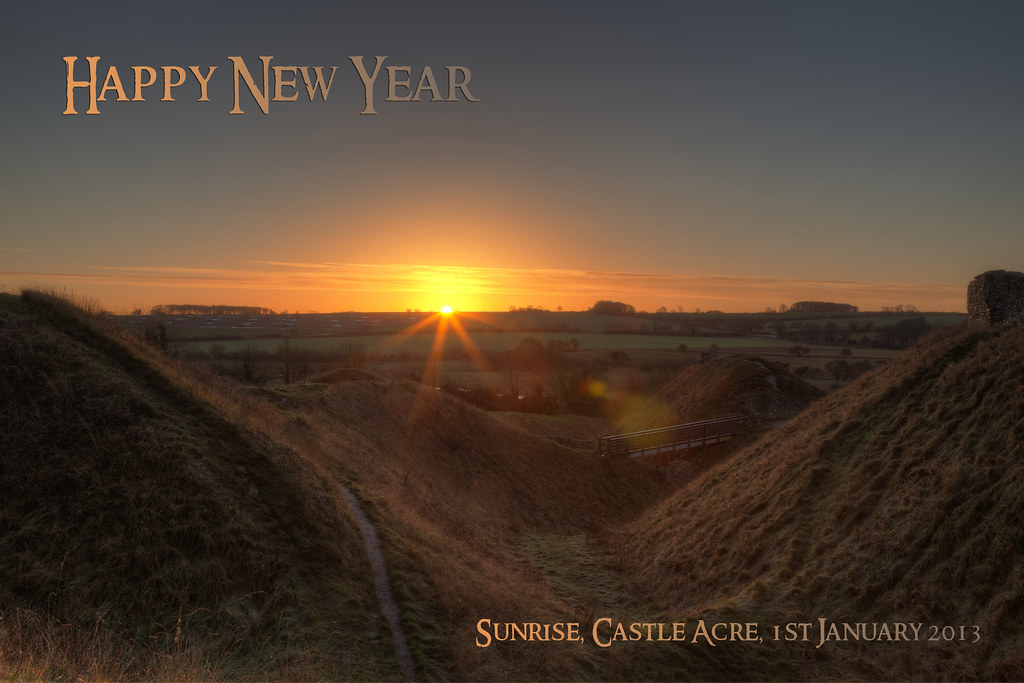 Happy New Year | Let there be respect for the earth peace ...