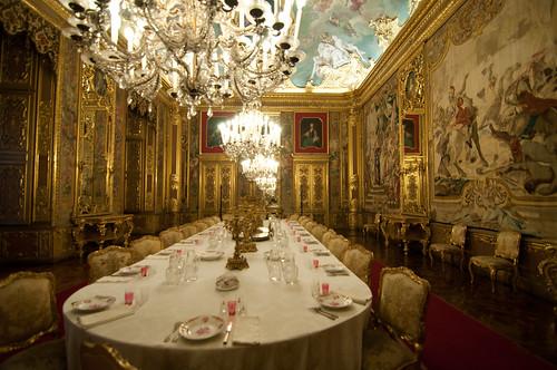 Castello reale sala da pranzo william grossi flickr for Sala da pranzo reale