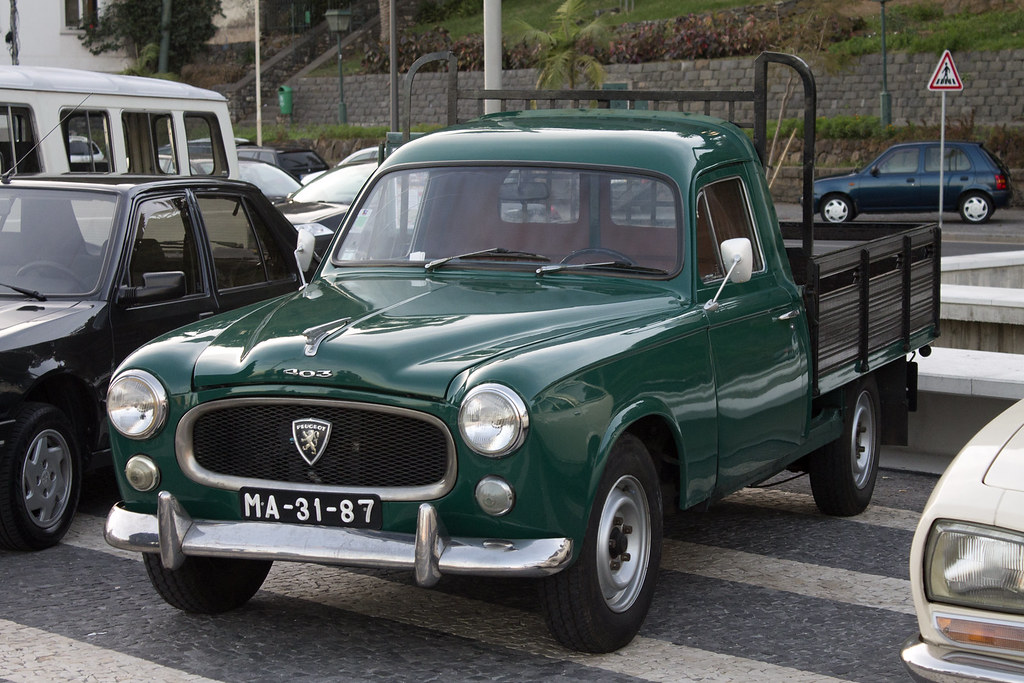 Top Peugeot 403 Pick-up - Funchal 2013 | Bruno Pereira | Flickr AK41