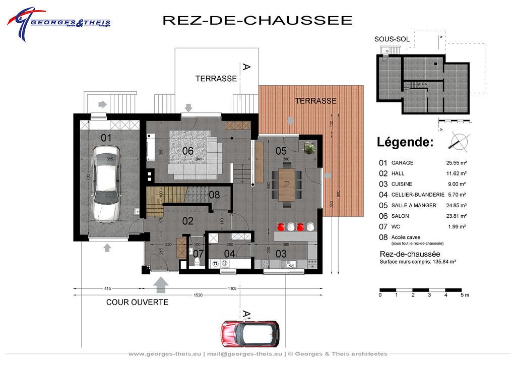 Plan m02 projet de maison tr s basse consommation d - Maison tres basse consommation ...