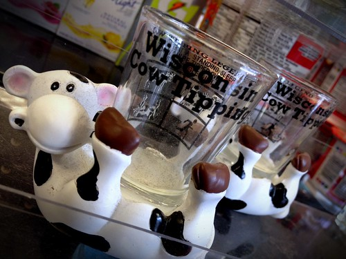 Cow tipping shot glass? Why not! | by Chebutykin