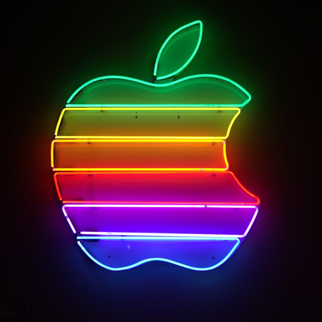 apple logo | old school apple logo | steve kuenstler | flickr