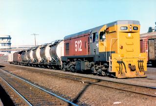 Da 512 03 07 1986 Newmarket Nz Da 512 With A Rake Of
