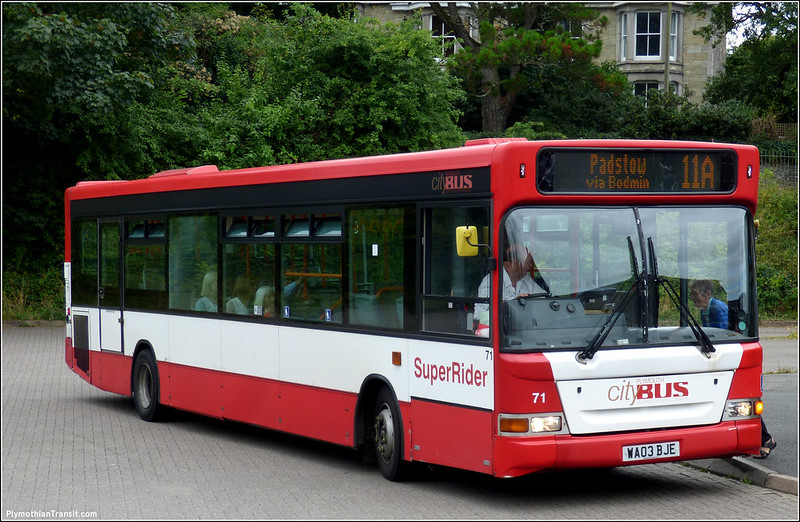 Plymouth Citybus 71