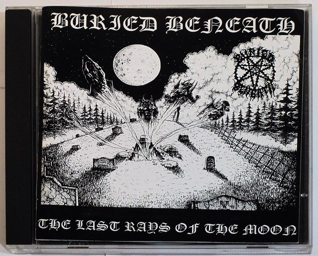 BURIED BENEATH - The Last Rays of The Moon (CD)