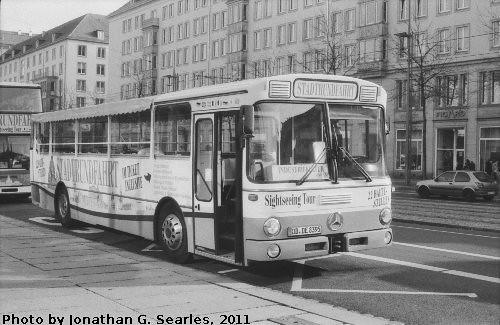 old mercedes tour bus dresden saxony germany 2011 flickr photo sharing. Black Bedroom Furniture Sets. Home Design Ideas