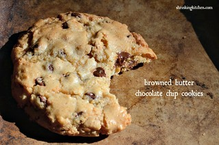 browned butter chocolate chip cookie | by Heather@MamaSass